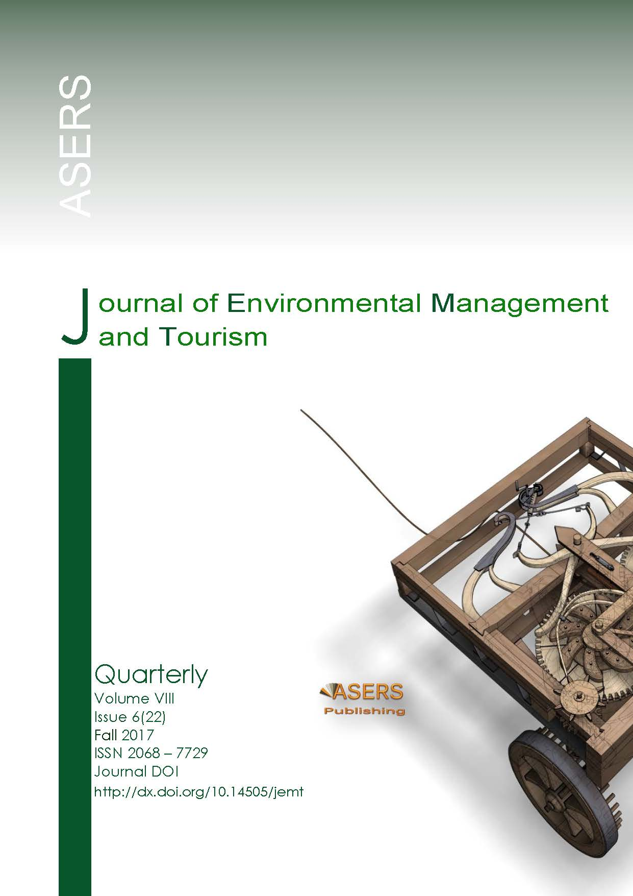 Journal of Environmental Management and Tourism